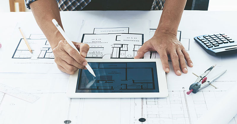 Büromöbel - Aufmaß und Grundrisserfassung