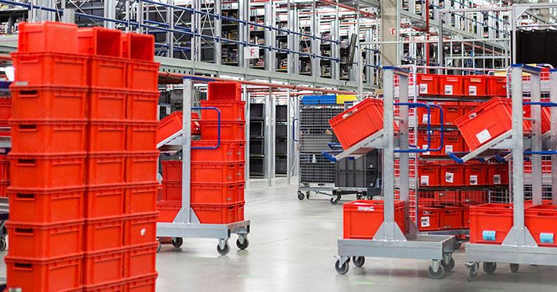 Büromöbel - Lagertechnik und -ausstattung