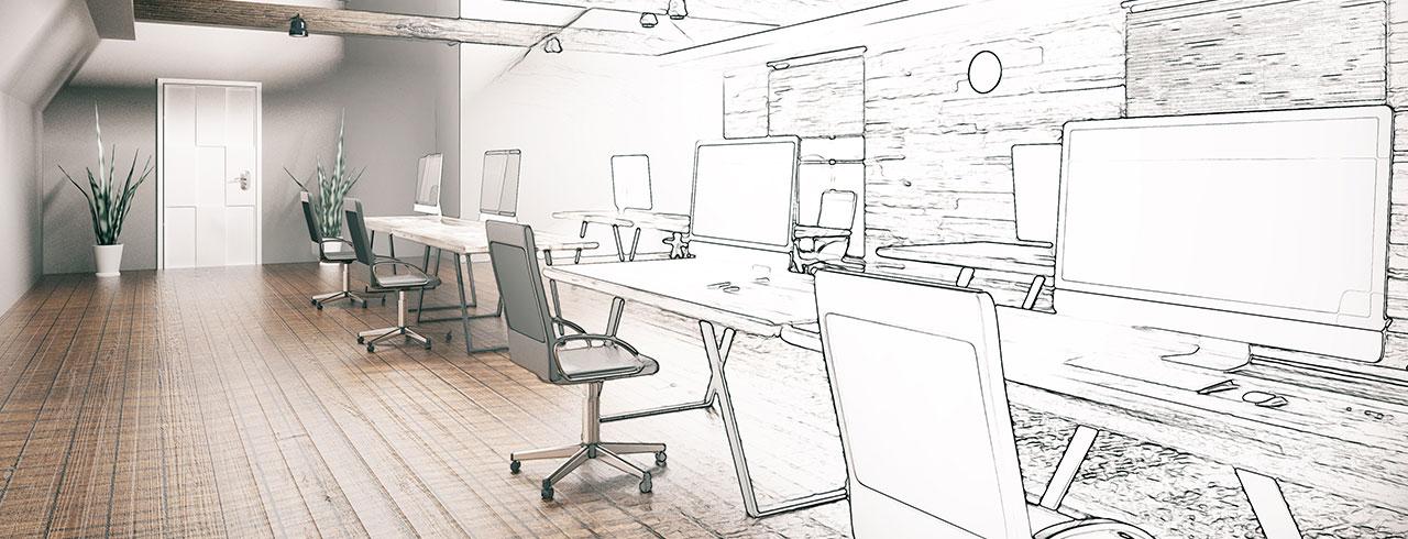 Büromöbel - Planung